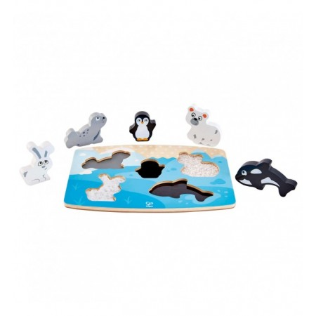 PUZZLE TACTILE ANIMAUX...