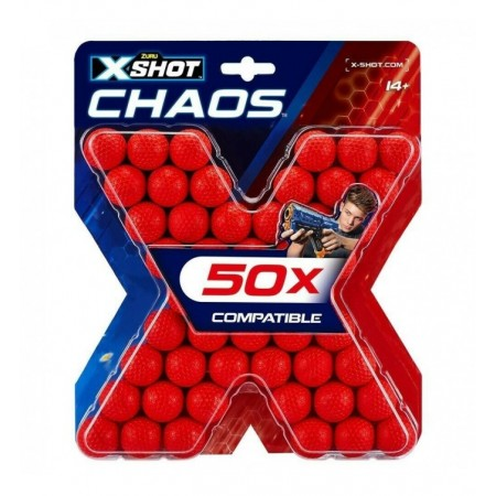 RECHARGES XSHOT CHAOS 50...